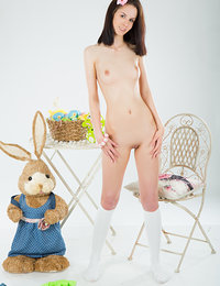 Lovely naked cutie