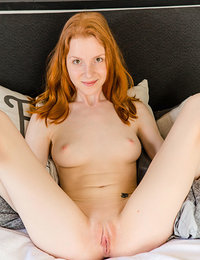 Sweet redhead goes wild