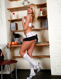 Kinky schoolgirl