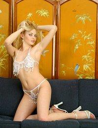 Blonde Teen Tease